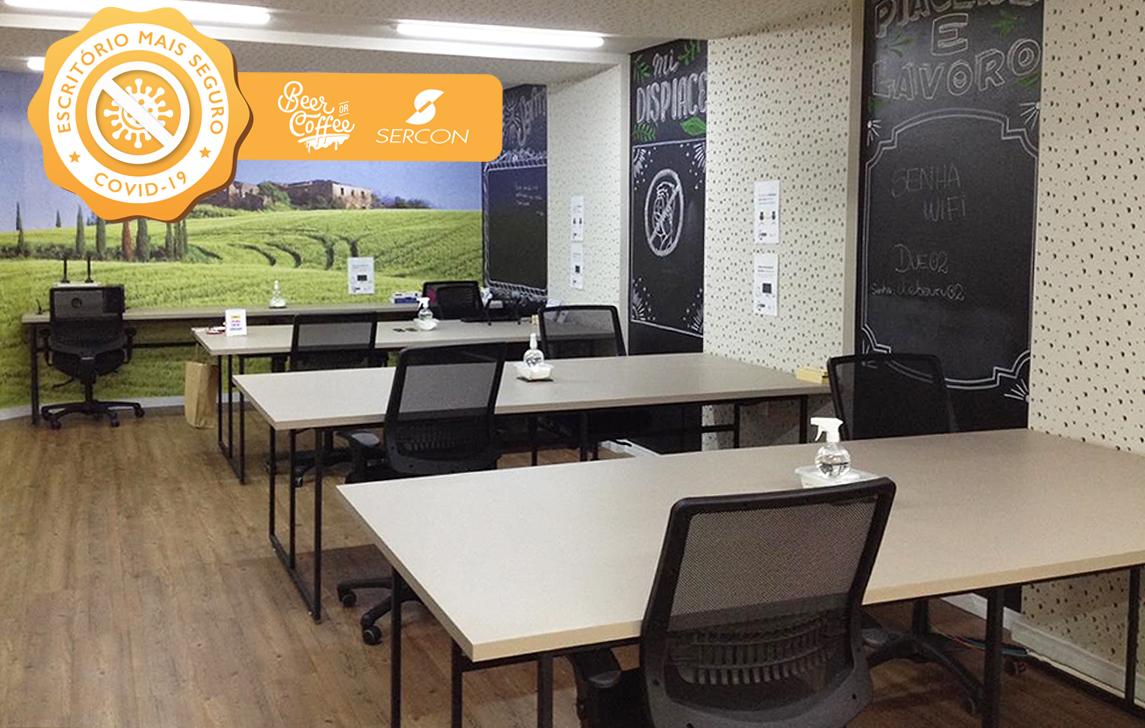 Flexibilidade e segurança fazem dos coworkings espaços perfeitos para qualquer negócio